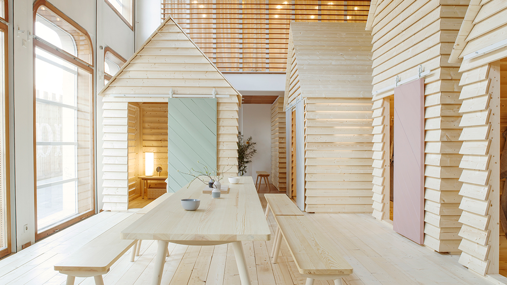 La freschezza del design finlandese incontra Parigi.